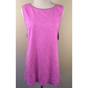 VSX Sport Pink Muscle Tank in size Large L
